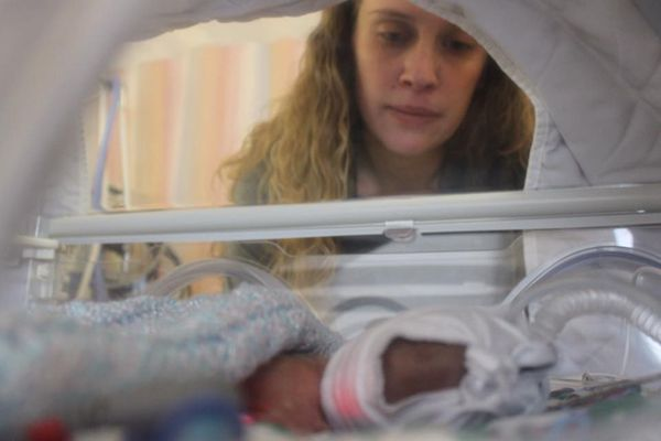 """""""My son was born via emergency C-section at 25 weeks. He weighed 1 pound,15 ounces. I nearly lost my life due to hemorrhaging"""