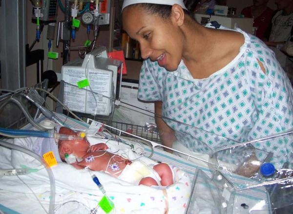 """""""My thought was, 'I can't wait to hold you.' Just one of the many goals when your baby is a preemie."""""""