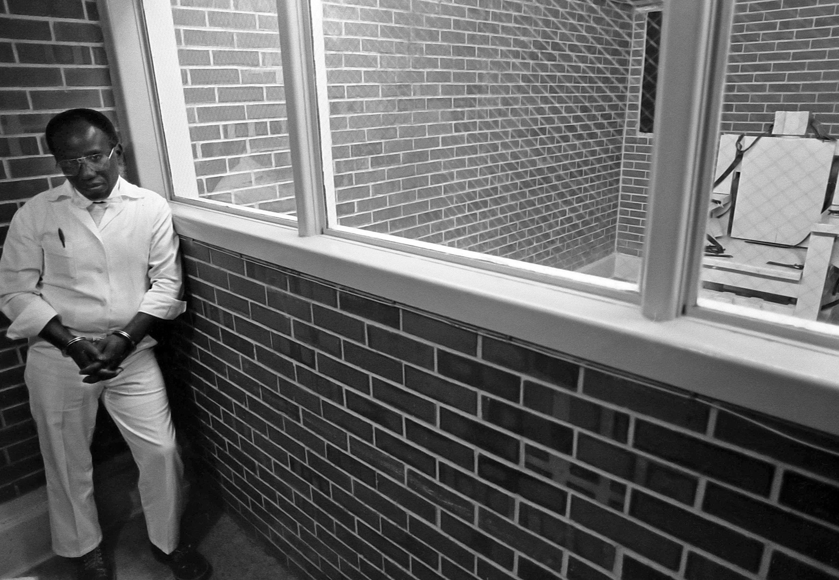 Death row convict Herbert Richardson, before his execution on August 18, 1989.