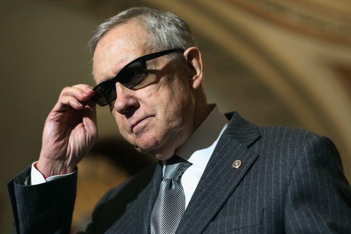 Senate Minority Leader Harry Reid (D-Nev.)joinedcongressional Democrats in urging President Barack Obama to sign