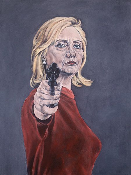 An Artist Painted Hillary Clinton Nude, And She Didnt -1444