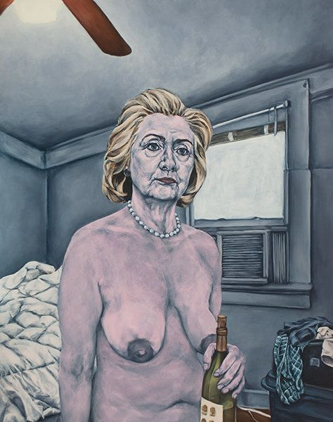 Can Hillary clinton nude naked sorry
