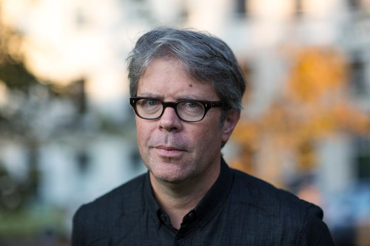 Jonathan Franzen at the Cheltenham Literature Festival on October 2, 2015 in Cheltenham, England.
