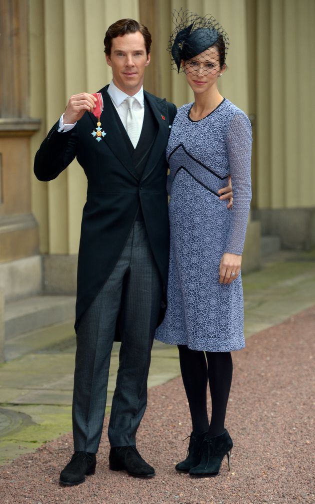 Benedict Cumberbatch Receives Royal Honor From The