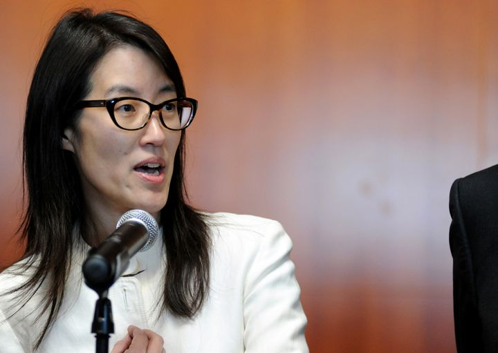 Ellen Pao encouraged other women to speak out about inequality in the male-dominated tech and venture capital worlds in