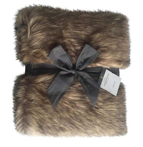 "<i><a href=""http://www.target.com/p/threshold-brown-fur-throw/-/A-17448774#prodSlot=_1_9"" target=""_blank"">Threshold Brown Fur"