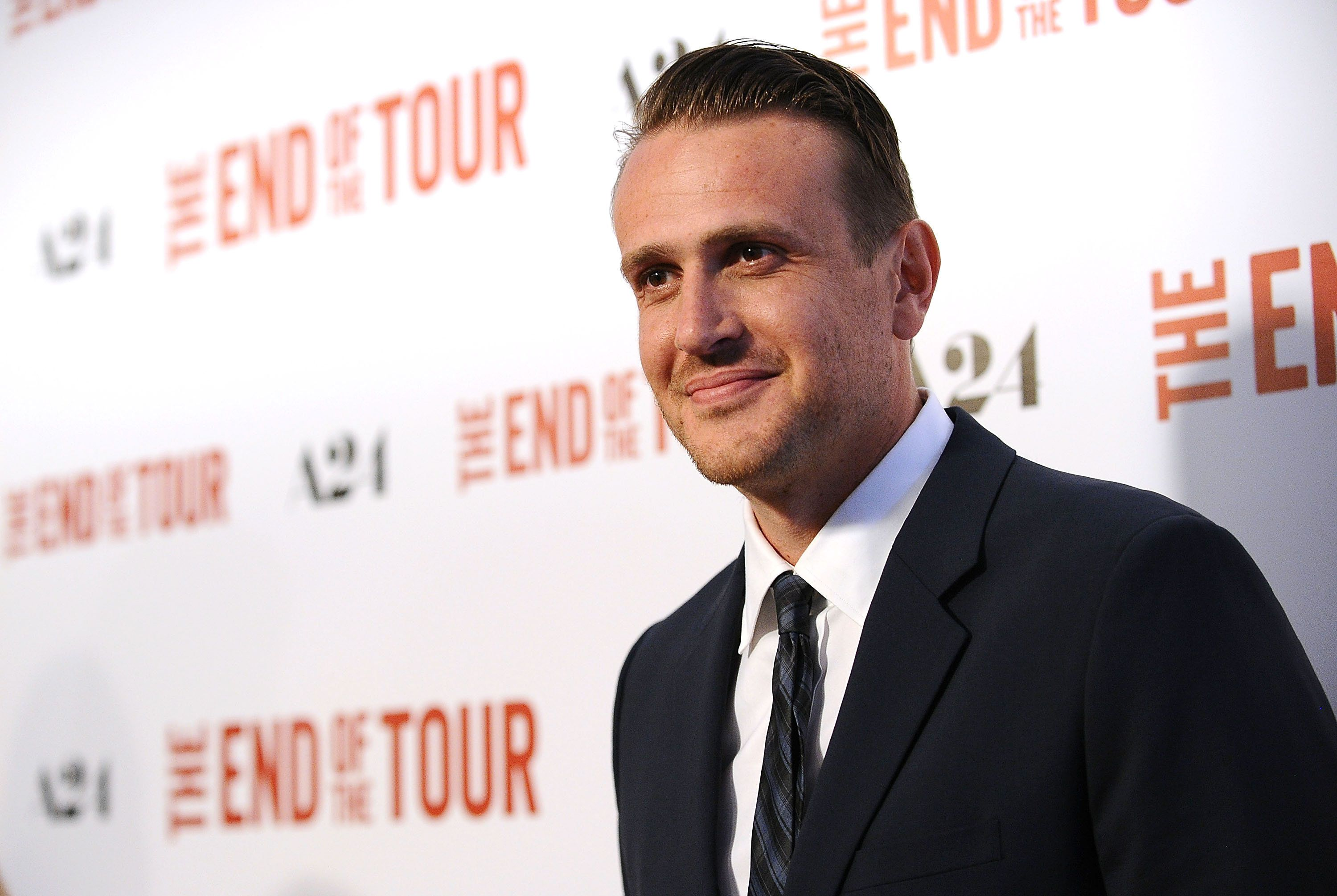 BEVERLY HILLS, CA - JULY 13:  Actor Jason Segel attends the premiere of 'The End Of The Tour' at Writers Guild Theater on July 13, 2015 in Beverly Hills, California.  (Photo by Jason LaVeris/FilmMagic)