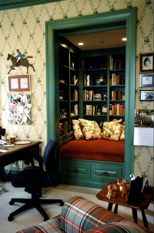 """<a href=""""http://www.houzz.com/photos/44751/Book-Nook-traditional-family-room-los-angeles"""">Traditional Family Room by Los Ange"""
