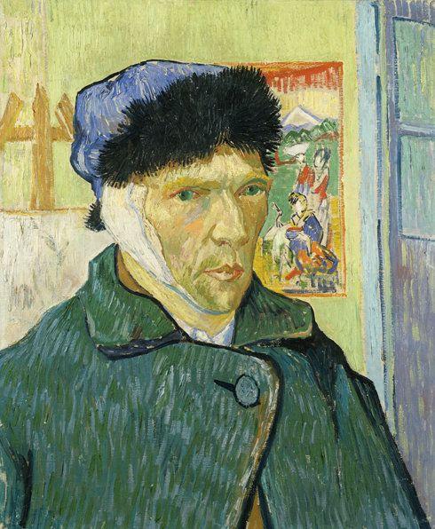 &nbsp;<i>Vincent van Gogh, Self-Portrait with Bandaged Ear (1889).</i>