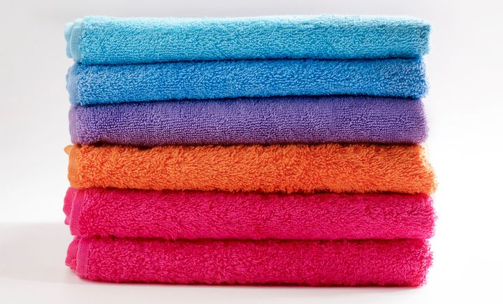 So THAT'S What's Causing Bleach Spots On Your Towels | HuffPost Life