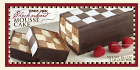 Yes, you read that correctly. Thisis chocolate and vanilla mousse checkered together to form the ultimate mousse duo. T