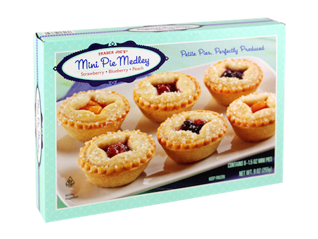 Feeling indecisive about dessert tonight? This medley of strawberry, blueberry and peach mini pies is perfect for you. There'
