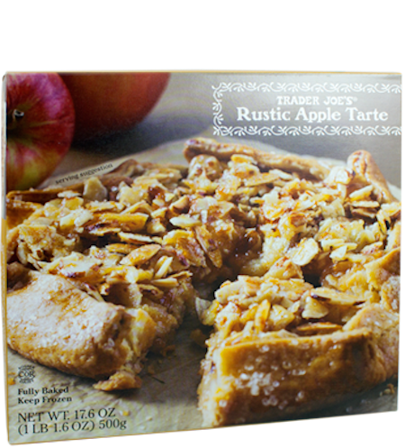 Yes, it may lack a bit of visual sophistication, but this apple tarte does not disappoint. The blend of sweet apples, almonds