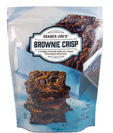 Ever wonder what a brownie would taste like in the form of a chip? Well, wonder no more! Behold the brownie crisp, otherwise