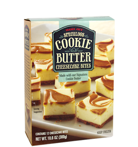 Want all the goodness of the Speculoos cookie butter cheesecake in one bite? Voilà! Half the size, but double the fun.