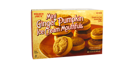 Don't discountpumpkin season just yet! You absolutely must try these ice cream sandwiches. The creamy rich pumpkin ice