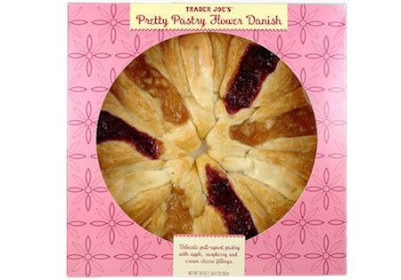 This pretty little danish is more than just another aesthetically pleasing dessert. It's a pull-apart pastry with nines