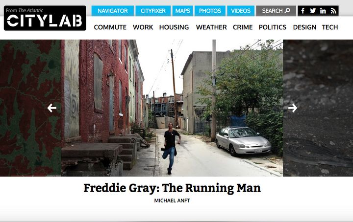 A screenshot of CityLab's current website.