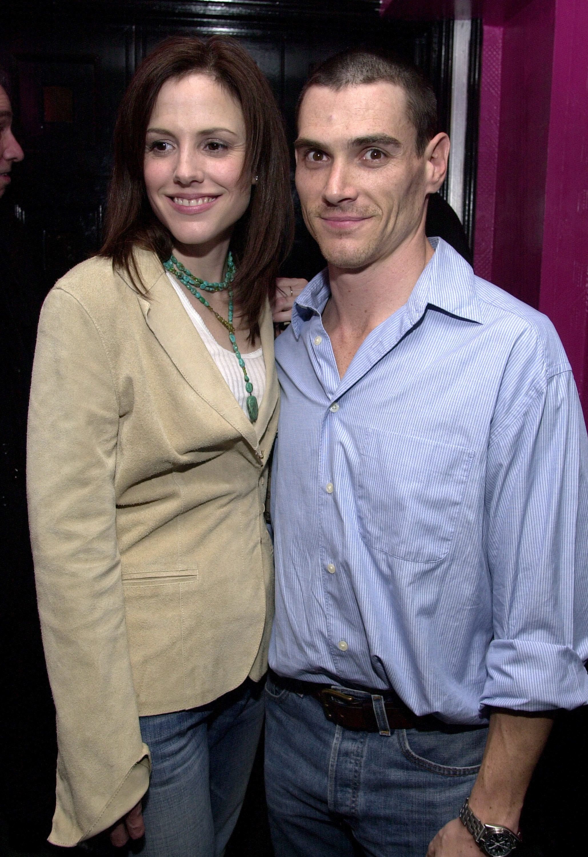 Mary-Louise Parker and Billy Crudup at the Serena in New York City, New York (Photo by Dimitrios Kambouris/WireImage)