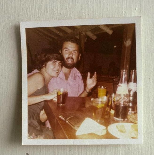 Jorge Alberto Rosal with Blanca de Rosal, before they were married, c. 1980. <strong>&nbsp;</strong>