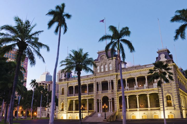 Iolani Palace, the only royal palace in the U.S., was the residence of the rulers of the Kingdom of Hawaii.