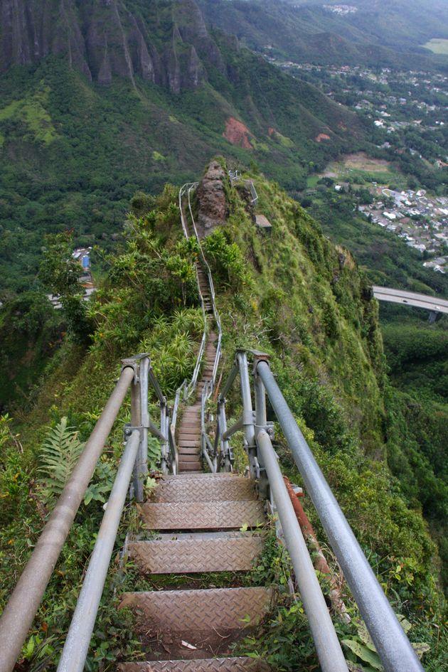 Le «Stairway to Heaven» d'Hawaii pourrait bientôt être légalement ouvert au grand public