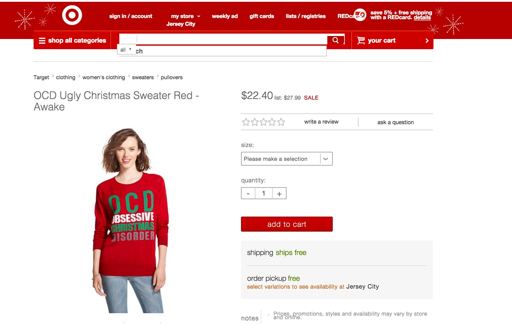Target Accused Of Making Light Of Mental Illness With 'Obsessive ...