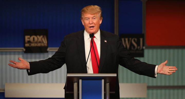 GOP presidential candidate Donald Trump says the Mexican government would pay for a border wall.