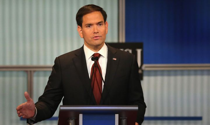 Sen. Marco Rubio (R-Fla.) helped write a comprehensive immigration reform bill in 2013.
