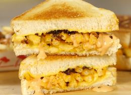 The Secret To Making In-N-Out Animal Style Grilled Cheese At Home
