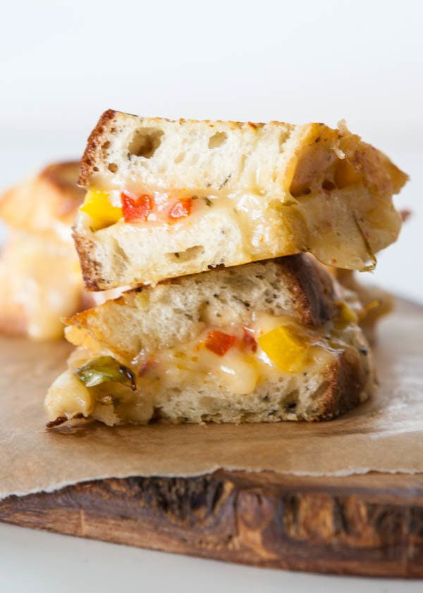"<strong>Get the <a href=""http://eclecticrecipes.com/fajita-grilled-cheese"" target=""_blank"">Fajita Grilled Cheese recipe</a> f"