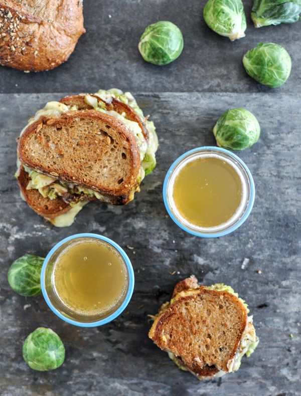 "<strong>Get the <a href=""http://www.howsweeteats.com/2012/11/balsamic-brussels-sprouts-grilled-cheese/"">Balsamic Brussels Spr"