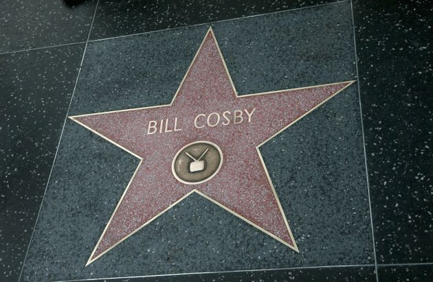 Bill Cosby's star on the Hollywood Walk of Fame on December 5, 2014 in Los Angeles, California.