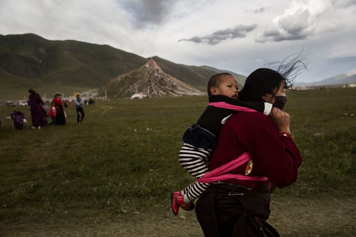 Tibetan nomads face many challenges to their traditional way of life including climate change and forced resettleme