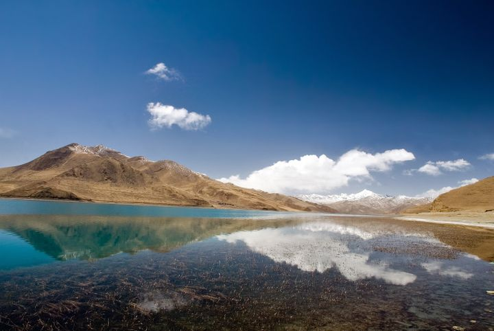 Global warming is rapidly melting glaciers on the Tibetan Plateau, a water source for many of the region's rivers.