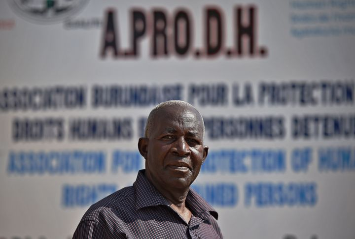 Pierre Claver Mbonimpa is founder and president of the Association for the Protection of Human Rights and Detainees in Burund