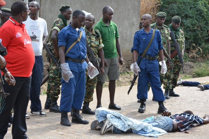 Night after night, bodies are dumped on the streets of Burundi's capital, Bujumbura.