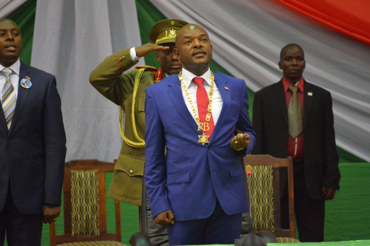 Pierre Nkurunziza, Burundi's president, was sworn in for a third term in August.
