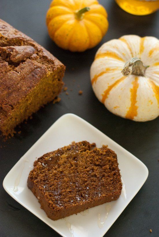 "<strong>Get the <a href=""http://cookieandkate.com/2011/whole-wheat-pumpkin-bread/"" target=""_blank"">Honey Whole Wheat Pumpkin"