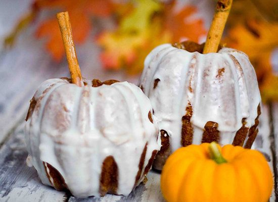 "<strong>Get the <a href=""http://sweetcsdesigns.com/archives/6033"">Pumpkin Bread Mini Pumpkins recipe</a> from Sweet C's Desig"