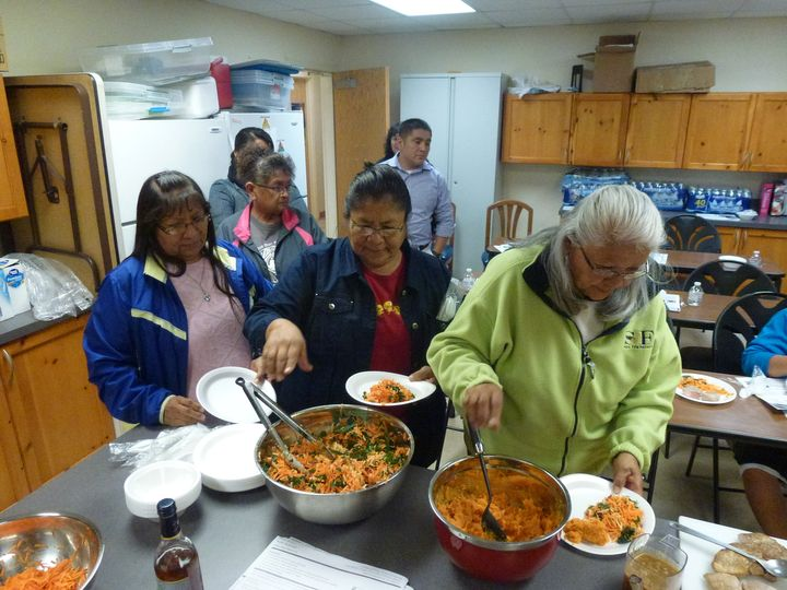 Inside a cooking class at one of MoGro's community partner sites.