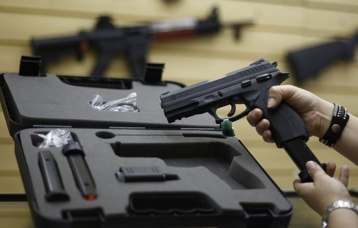 Sixty-four percent of Americans say they are more afraid of gun violence than terrorism.