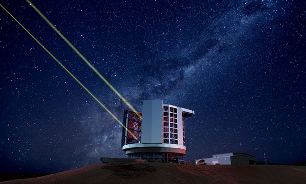 "The <a href=""http://www.gmto.org/overview/"" target=""_blank"">Giant Magellan Telescope</a> is being constructed in the Las"