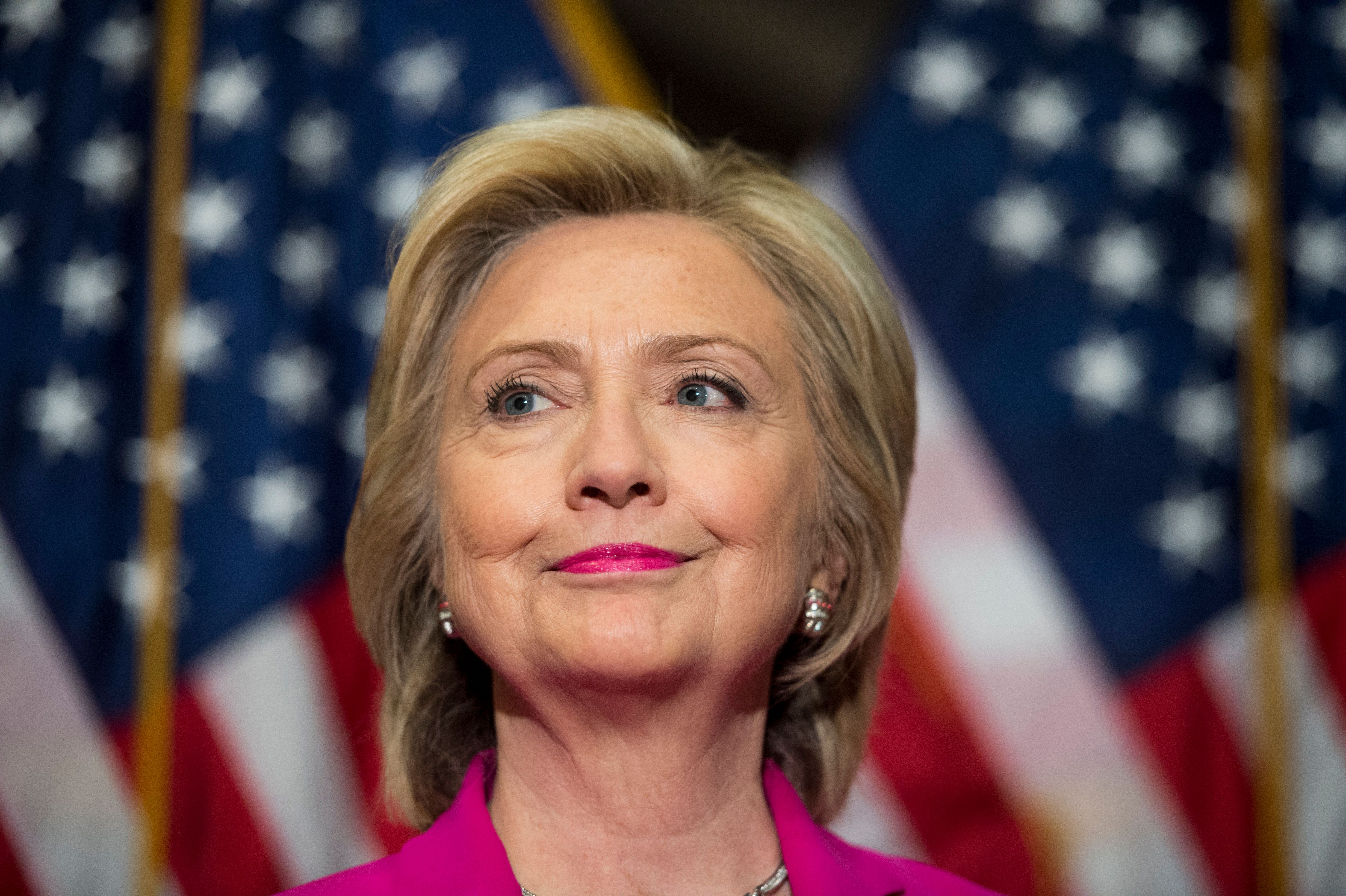 Democratic presidential candidate Hillary Clinton and Republican candidate Carly Fiorina are both vying...