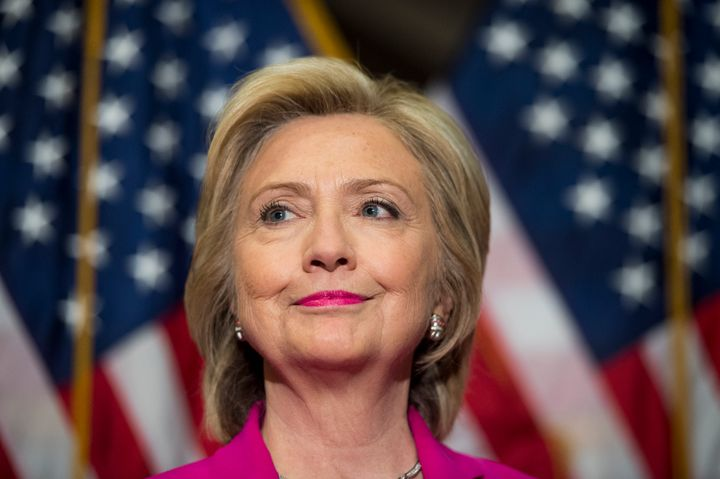 Democratic presidential candidate Hillary Clinton and Republican candidate Carly Fiorina are both vying for the Oval Office i