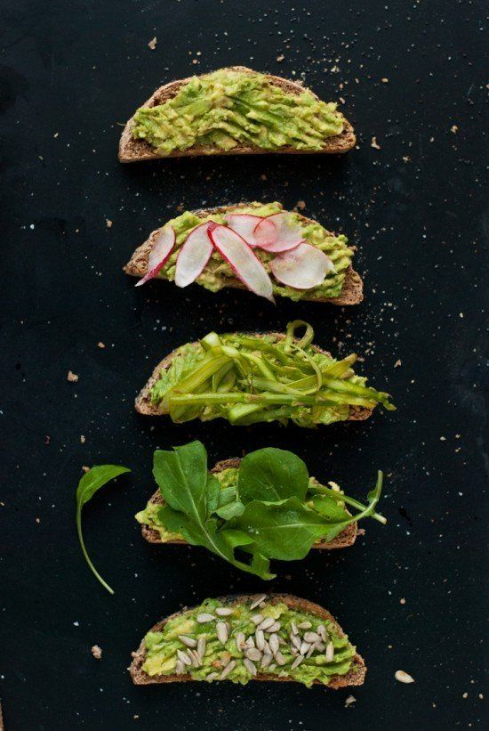 "<strong>Get the <a href=""http://cookieandkate.com/2012/avocado-toast-recipe/"">Avocado Toast recipe</a> from Cookie + Kat"