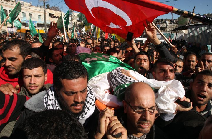 A 27-year-old Palestinian man was killed in the undercover raid.