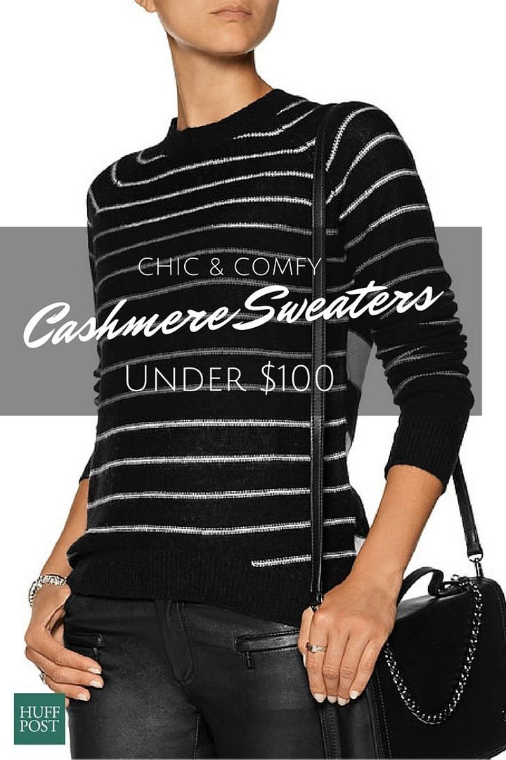 Cashmere Sweaters For Under  100 Really Do Exist  14642c140