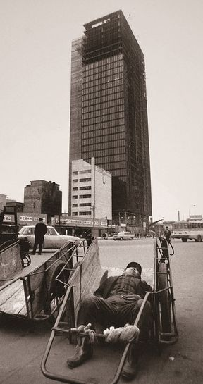 <strong></strong>Completed in 1969, Building 3.1, at 31 storeys high,&nbsp;was Seoul's first skyscraper.