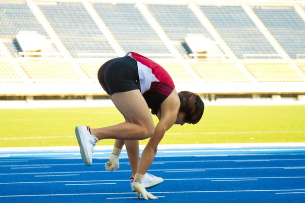 Kenichi Ito holds the world record for fastest 100 meters while running on all fours: 15.71 seconds.